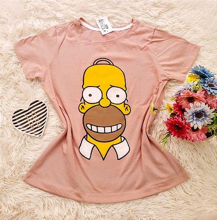 Camiseta No Atacado Homer Nude