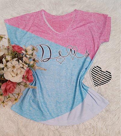 T-Shirt No Atacado Deus Tie Dye