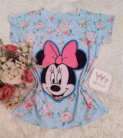 T-Shirt No Atacado Minnie Floral