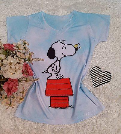 T-Shirt No Atacado Snoopy