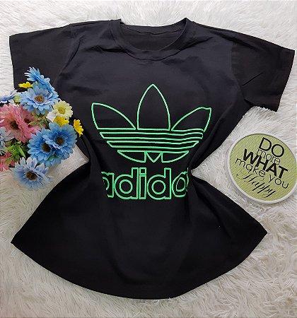 Camiseta No Atacado Adidas Original  Preto
