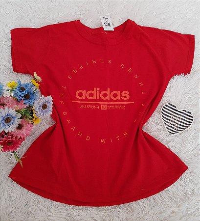 Camiseta No Atacado Adidas Vermelho