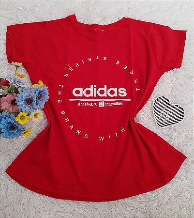 Camiseta No Atacado Adidas Stripes