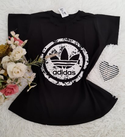 Camiseta No Atacado Adidas  Perfil Preto