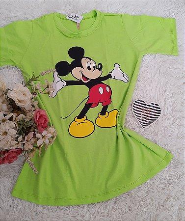 Blusão No Atacado Mickey Grande Verde Neon