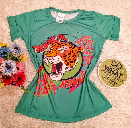 T-Shirt No Atacado Onca Pintada