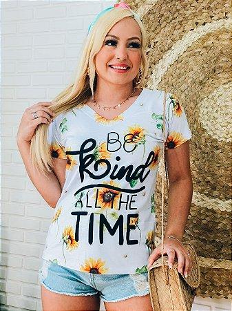 T-Shirt  No Atacado Be Kind