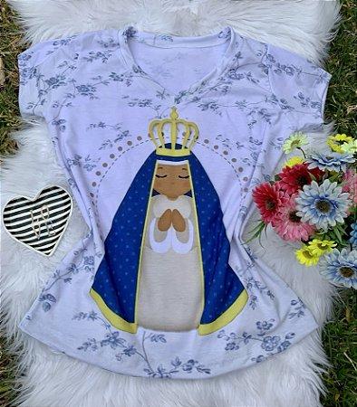 T shirt Feminina Religiosa no Atacado Nossa Senhora Aparecida