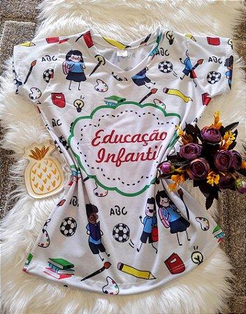 T shirt Feminina Profissão no Atacado Educação Infantil