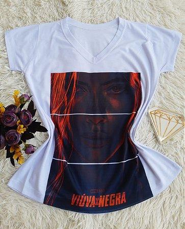 T shirt Feminina Básica no Atacado Viúva Negra