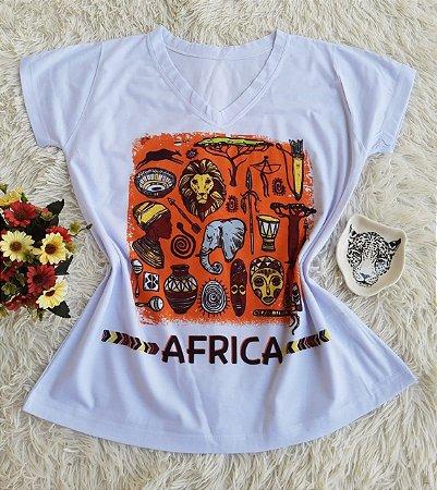 T-shit Feminina África
