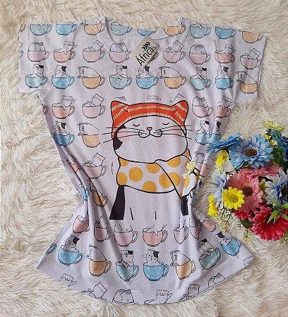 T-shirt Feminina Cat