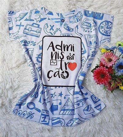 T-shirt Feminina Administração
