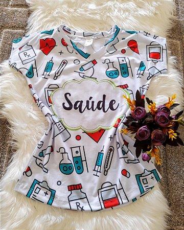 T shirt Feminina Profissão no Atacado Saúde