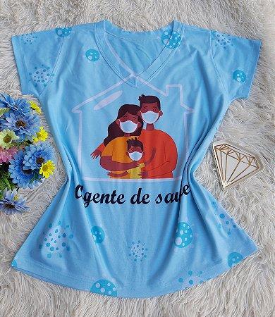 T shirt Feminina Profissão no Atacado Agente de Saúde Família