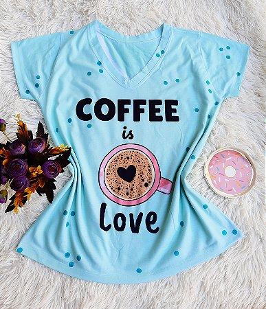 Blusa Feminina no Atacado Coffee is Love