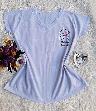 T-Shirt no Atacado Medicina Veterinária Bolso