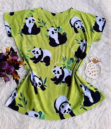 Blusa Feminina Estampa Animal no Atacado Pandas