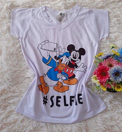 T shirt Feminina Básica no Atacado Selfie
