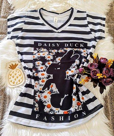 Camiseta Feminina Personagem No Atacado Margarida Fashion