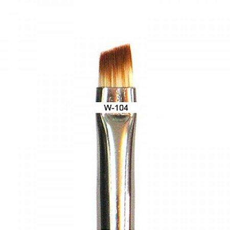 Pincel Chanfrado para delineado W104 - Macrilan