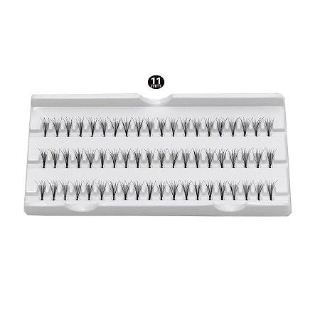 Cílios em tufos - 11mm