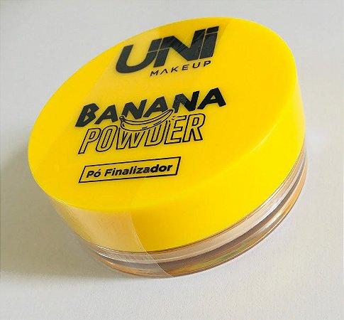 Pó banana finalizador - Uni Makeup