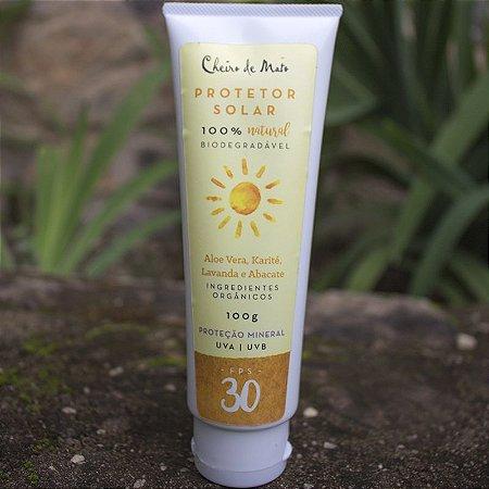 Protetor Solar Biodegradável Cheiro de Mato