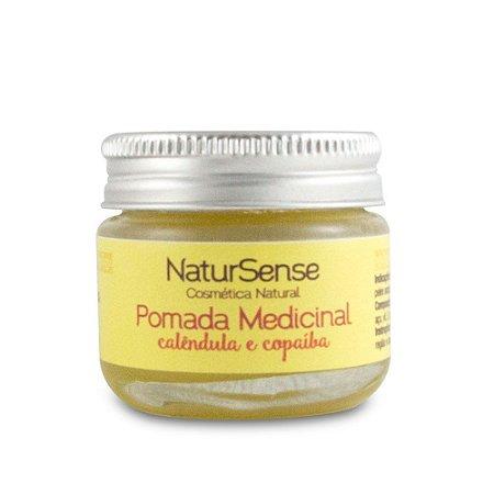 Pomada Medicinal Calêndula e Copaíba - Natursense