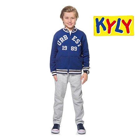 Conjunto casaco e calça Kyly