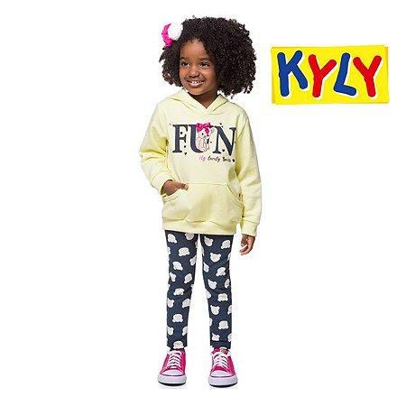 Conjunto casaco e legging Kyly