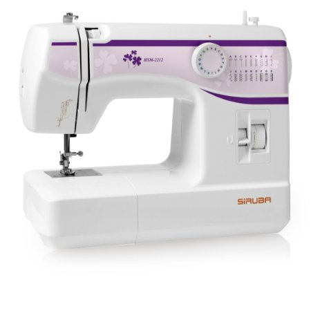 Máquina de Costura Doméstica Siruba HSM2212 Zigue-Zague Mecânica