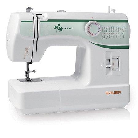 Máquina de Costura Doméstica Siruba HSM 2221 Zigue-Zague Mecânica