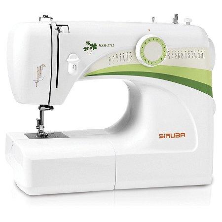 Máquina de Costura Doméstica Siruba HSM2712 Zigue-Zague Mecânica