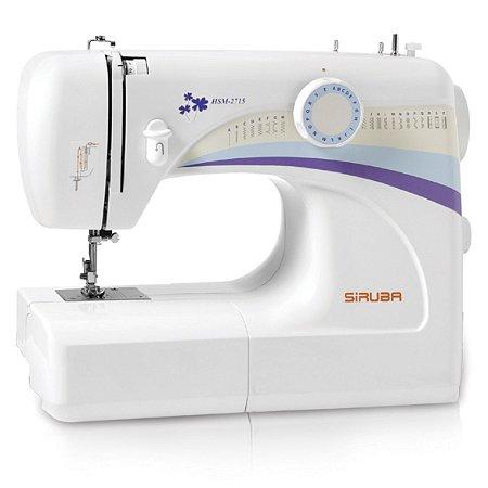 Máquina de Costura Doméstica Siruba HSM2715 Zigue-Zague Mecânica