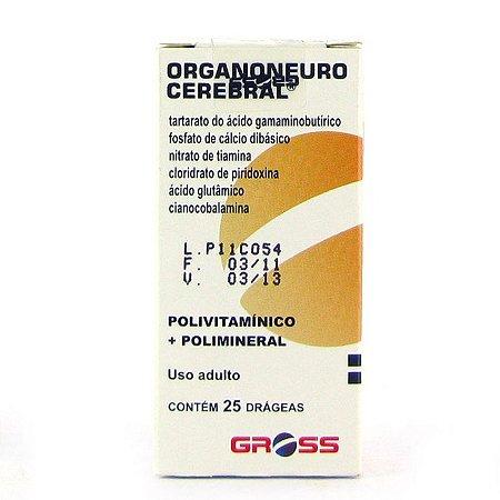 Organoneuro Cerebral - 25 Drg