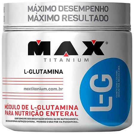 Glutamina L-G (300g) Max Titanium