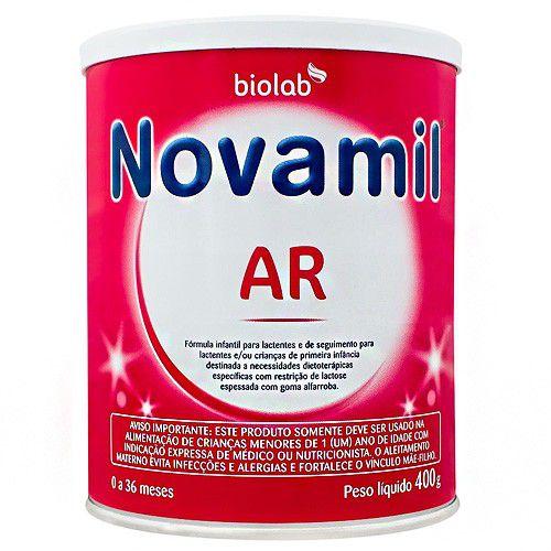 Novamil AR Fórmula Infantil Lata 400g