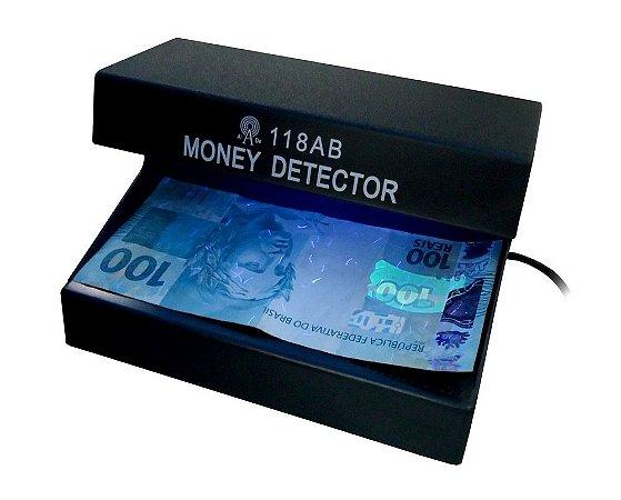 Máquina de identificar dinheiro falso - Identifica cédulas falsas e testa documentos