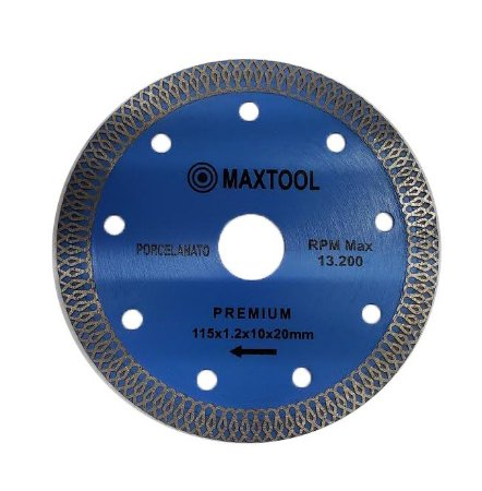 Disco de Corte Extra Fino para Porcelanato - 115x1.2x10x20mm