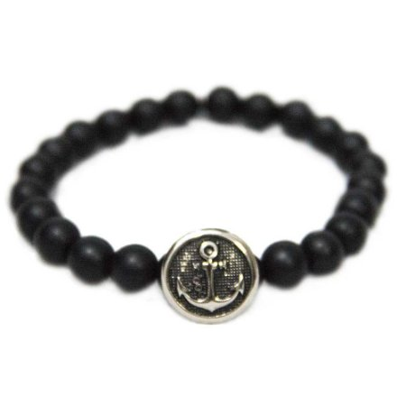 Pulseira Black Anchor