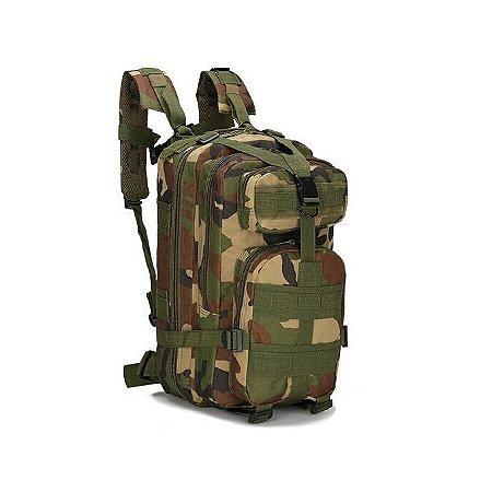 Mochila Tática Militar Assault 30l Trilhas Camping