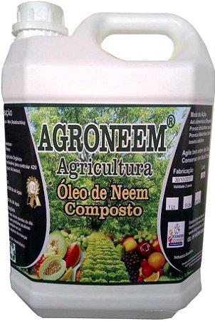 Óleo de Neem Nim composto agrícola Agroneem 5 L