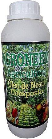 Óleo de Neem Nim Composto Agrícola - Agroneem 1 L