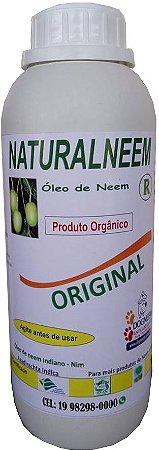 Óleo de Neem Nim puro emulsificado Naturalneem 1 L