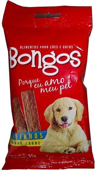 Bifinho, filézinho, petisco para cães Sabor Carne 65 Gr