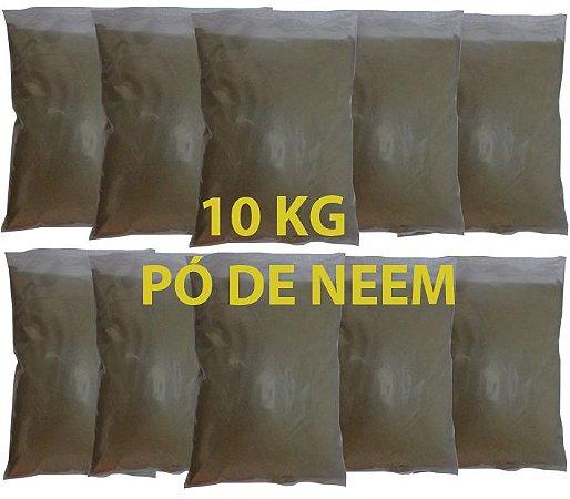 Pó da folha de Neem Nim Pacote com 10 KG