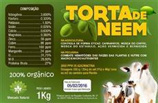 Torta De Nim Neem Com Alho + Vitamina ADE + Probióticos uso Animal (10) Kg