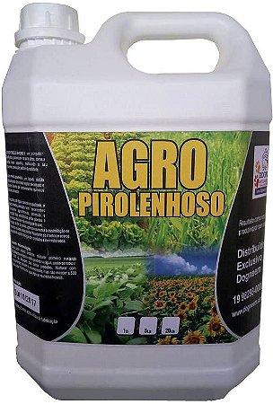 Extrato Pirolenhoso Adubo Enraizador Fumaça Liquida - defensivo Agro Pirolenhoso 5 LT