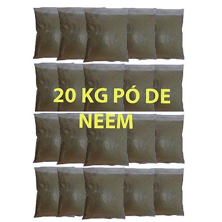 20 Kg Pó Da Folha Nim Azadiractha Índica Fino Puro Original